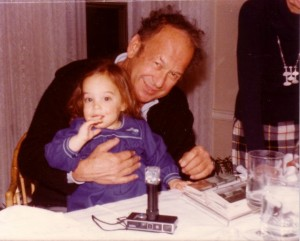 Grandpa Ray and me circa 1977 or 8