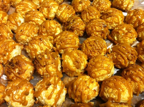 Salted Caramel Danny Macaroon at Taste of T, NYT Style Event