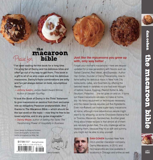 Back of The Macaroon Bible
